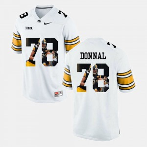 White For Men Andrew Donnal Iowa Jersey Pictorial Fashion #78 473885-872