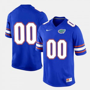 Royal Blue #00 Gators Customized Jersey College Limited Football Mens 204928-933