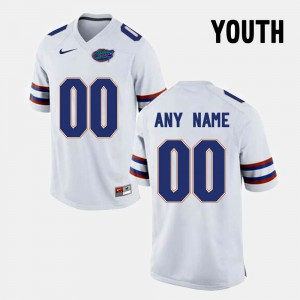 College Limited Football FSU Customized Jerseys For Kids White #00 585508-352