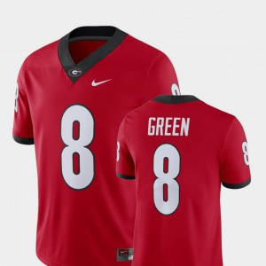 For Men A.J. Green UGA Jersey #8 Player Alumni Football Game Red 481838-136