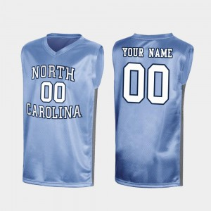 For Men Royal Special College Basketball March Madness #00 UNC Custom Jersey 379770-820