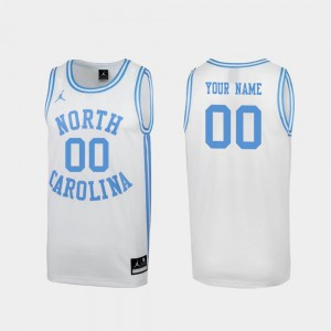 Special College Basketball UNC Customized Jersey White March Madness Men's #00 215048-194