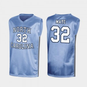 Special College Basketball Luke Maye UNC Jersey Royal For Men's March Madness #32 169916-354