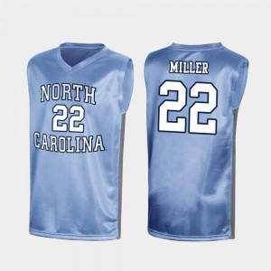 Walker Miller UNC Jersey March Madness Royal #22 Special College Basketball Mens 896732-983