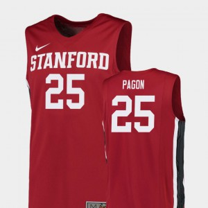 Replica College Basketball For Men Blake Pagon Stanford Jersey #25 Red 633203-900