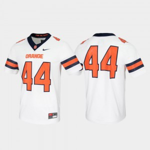Game Untouchable White #44 Syracuse Jersey For Men 760185-429