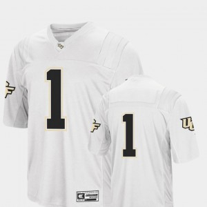 For Men College Football Colosseum UCF Jersey #1 White 576380-674
