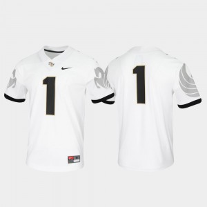 For Men UCF Jersey Untouchable White #1 Game 239233-334