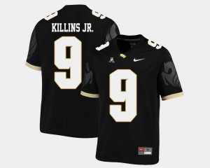 #9 Black American Athletic Conference College Football For Men Adrian Killins Jr. UCF Jersey 539654-626