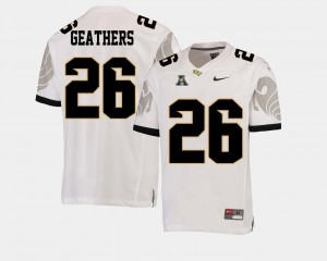 American Athletic Conference White #26 Men Clayton Geathers UCF Jersey College Football 582990-764