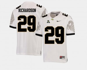 American Athletic Conference White Cordarrian Richardson UCF Jersey For Men's College Football #29 587265-296