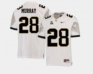 #28 Latavius Murray UCF Jersey American Athletic Conference College Football White Mens 640334-420
