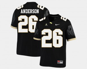 College Football #26 American Athletic Conference Black For Men's Otis Anderson UCF Jersey 653069-479
