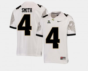 College Football Tre'Quan Smith UCF Jersey American Athletic Conference #4 For Men White 390466-627