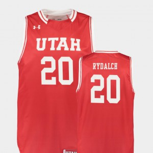 Replica Red For Men Beau Rydalch Utah Jersey College Basketball #20 811961-893