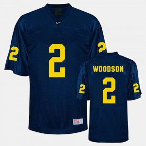 #2 Blue Youth Charles Woodson Michigan Jersey College Football 177067-727