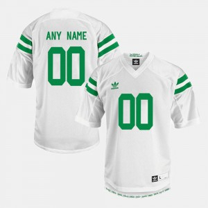 College Limited Football Notre Dame Customized Jerseys Men's White #00 573785-469