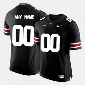 College Limited Football OSU Custom Jersey Black #00 For Men's 900609-775