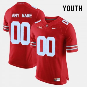 OSU Customized Jerseys Kids College Limited Football Red #00 697525-775