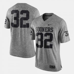 #32 Men Gray Gridiron Gray Limited OU Jersey Gridiron Limited 743110-475
