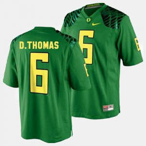 Green For Men's De'Anthony Thomas Oregon Jersey #6 College Football 112399-684