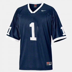 Penn State Jersey College Football #1 For Men's Blue 424627-403