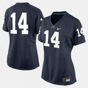 Penn State Jersey College Football Navy Blue #14 Ladies 305632-448