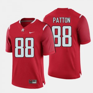 Red Men Andre Patton Rutgers Jersey College Football #88 830700-788