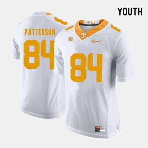 College Football #84 White For Kids Cordarrelle Patterson UT Jersey 516781-632