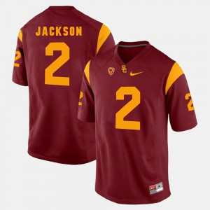 Adoree' Jackson USC Jersey Mens Pac-12 Game #2 Red 880790-598