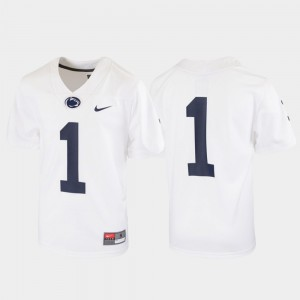 Football White Penn State Jersey Youth(Kids) Untouchable #1 769136-431