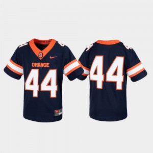 Game #44 Syracuse Jersey Untouchable Navy Youth(Kids) 347779-497