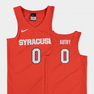 Replica Adrian Autry Syracuse Jersey Orange Youth College Basketball #0 749251-922