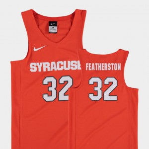 Orange College Basketball Ray Featherston Syracuse Jersey #32 Replica For Kids 375388-192